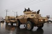 Khủng bố đánh Học viện quân sự Afghanistan
