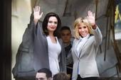 Lý do Angelina gặp phu nhân Tổng thống Pháp