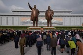 Tên lửa vắng bóng trong dịp lễ 'Ngày mặt trời' ở Triều Tiên