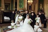 Hoàng gia Anh chính thức công bố ảnh cưới của hoàng tử Harry