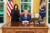 Ông Trump tiếp Kim Kardashian tại Nhà Trắng