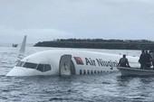 Máy bay lao thẳng xuống biển, toàn bộ hành khách được cứu sống