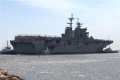 Mỹ bí mật thử nghiệm tàu đổ bộ tấn công siêu hạng