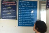 Những khẩu hiệu lạ ở UBND phường Phú Cường, Bình Dương