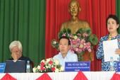 Cử tri quan tâm nhiều về dự án lấn sông Đồng Nai
