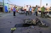 Mới: Đã khởi tố vụ xe khách tông chết 2 đứa trẻ