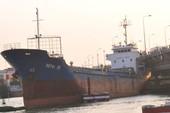 Tàu 'khủng' ngàn tấn bị mắc kẹt dưới cầu Đồng Nai