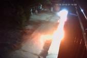 Một nhà dân ở Đồng Nai bị ném bom xăng