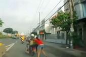Bình Duong: 2 tên trộm kéo lê nữ nạn nhân hàng trăm mét