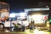 Xe tải tông liên hoàn 3 ô tô ở Đồng Nai