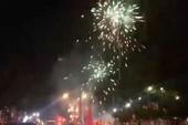 Đồng Nai: Pháo hoa bắn rực trời đêm chiến thắng của Olympic VN
