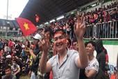 'Tiểu Emirates' thành nơi Fans Zone của U-23 Việt Nam