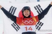 Lee Sang-ho, VĐV châu Á đầu tiên có HC Alpine Snowboard