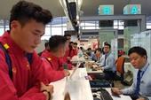 Cân sức trước khi tuyển Việt Nam làm khách Jordan