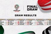 Bốc thăm Asian Cup 2019: Việt Nam rơi vào bảng D nghiệt ngã