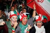 Dù bị loại nhưng Iran được đón tiếp như người hùng