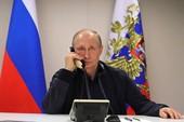 Ông Putin chúc mừng ông Macron và chia sẻ với vua Bỉ