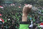 Biểu tình ngày khai mạc Asiad 18 trước sân Bung Karno