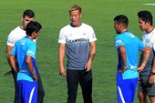 Siêu sao Nhật Bản lần đầu huấn luyện tuyển Campuchia