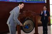 Thủ tướng Canada đánh cồng ở sàn chứng khoán TP.HCM