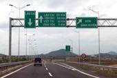 Cao tốc Nội Bài-Lào Cai  phải dừng thu phí nếu không khắc phục được lún