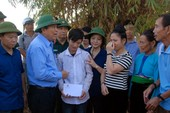 Phó Thủ tướng đến Yên Bái thị sát hiện trường lũ