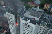 Cháy ở chung cư Fodacon 23 tầng, hàng trăm người tháo chạy