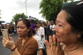 Hàng vạn người dân đón linh cữu Chủ tịch nước ở xã Quang Thiện