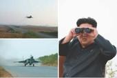 Kim Jong-un thị sát huấn luyện phi công cảm tử