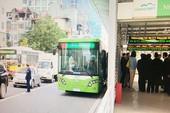 Xe buýt nhanh Hà Nội nhanh hơn xe buýt thường 5-10 phút