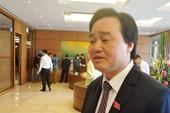 Bộ trưởng GD&ĐT: 'Lương hưu có 1,3 triệu sao sống nổi'