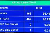 Quốc hội thông qua Luật Cảnh sát biển Việt Nam