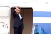 Toàn cảnh: Chủ tịch Tập Cận Bình lên máy bay rời Hà Nội
