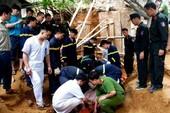 Sạt lở khi đang xây kè chống sạt lở, 3 người tử vong