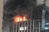 Cháy tầng 25 tòa nhà MB Grand Tower trên đường Lê Văn Lương