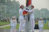 Lễ thượng cờ rủ cố Tổng Bí thư Đỗ Mười