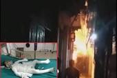 Cha dượng tạt xăng đốt tử vong bé trai 6 tuổi