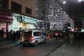 Thi thể trẻ sơ sinh nghi rơi từ tòa nhà cao tầng