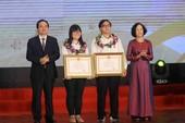 Trao huân chương Lao động hạng 3 cho học sinh đạt giải Olympic