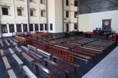 Cận cảnh sân tòa 1.000 m2 xét xử cựu tướng Phan Văn Vĩnh
