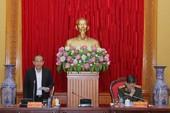 Công bố kế hoạch kiểm tra tại Đảng ủy Công an Trung ương