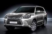 Lexus ra mắt mẫu xe LX570 tại Việt Nam, giá bán 5,61 tỉ đồng