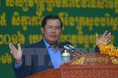 Thủ tướng Campuchia cảnh báo cuộc biểu tình của CNRP