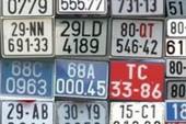 Giải đáp thắc mắc về ký hiệu, màu của biển số xe