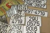 Dùng biển số giả, bị phạt tiền, tước giấy phép lái xe