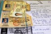 Lỗi tẩy xóa giấy phép lái xe, 5 năm mới được cấp lại