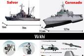 Trang bị của 2 tàu hải quân Mỹ cập cảng Cam Ranh