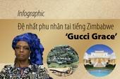 Infographic: Đệ nhất phu nhân tai tiếng của Zimbabwe
