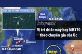 Vị trí MH370 theo chuyên gia của Úc
