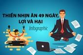Thiền nhịn ăn 49 ngày, lợi và hại